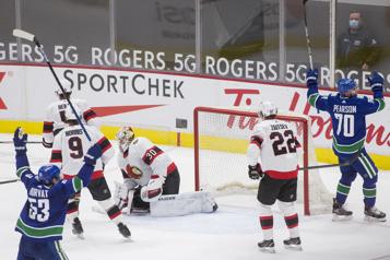 LNH Difficile comme prévu à Ottawa)