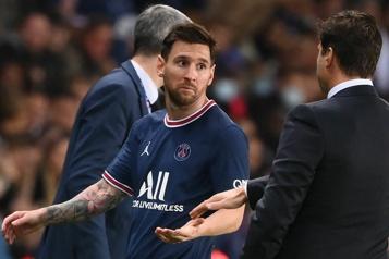 Lionel Messi ratera le prochain match du PSG)
