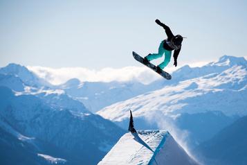 Laurie Blouin remporte l'épreuve de slopestyle à Calgary