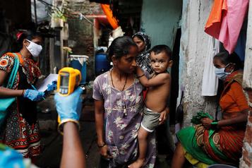 COVID-19: l'Inde devient le 3e pays en nombre de cas déclarés)