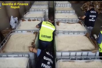 Italie: saisie de 14 tonnes d'amphétamines produites en Syrie par l'EI)