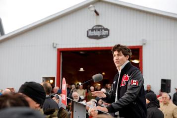 Trudeau en meilleure posture qu'au moisd'août
