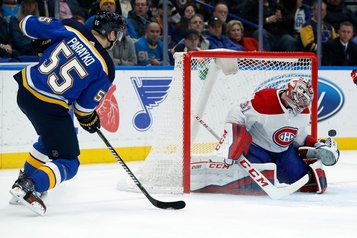Canadien 1 - Blues 1 (1er entracte)