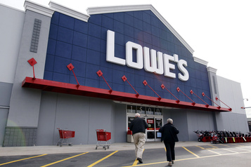 Lowe's Canada offre 5400 emplois