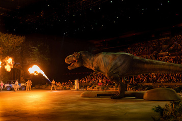 Le spectacle Jurassic World au Centre Bell en septembre