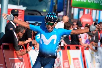 Quintana remporte la deuxième étape du Tour d'Espagne