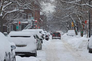 De fortes chutes de neige à venir jeudi