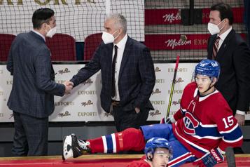 Sénateurs1 – Canadien3 Donner pour donner)