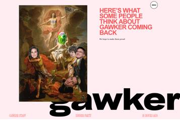 Sous le contrôle d'un nouveau propriétaire, Gawker tente de se relancer)
