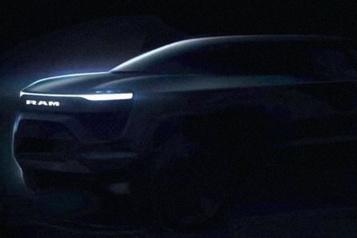 Stellantis Une camionnette etun muscle car électriques en route)