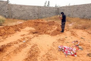 Libye: l'ONU «horrifiée» par des informations sur des charniers)