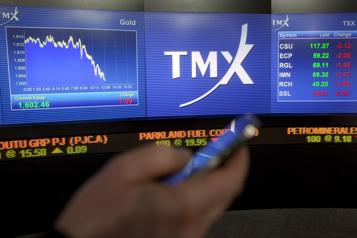 La Bourse de Toronto finit en baisse)