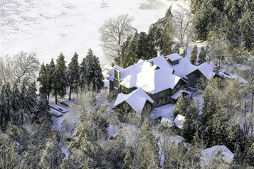Belles maisons: splendeurs d'hiver