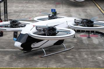 Airbus présente son taxi volant prévu pour 2023)