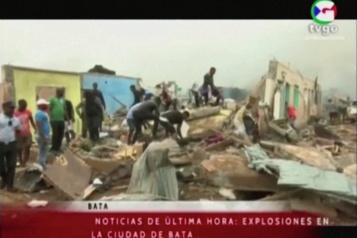 Guinée équatoriale 15 morts et 500 blessés dans des explosions accidentelles dans un camp militaire)