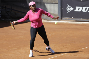 Serena Williams effectue son retour à Rome)