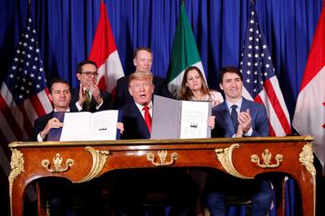 Le nouvel ALENA ne va pas être approuvé, croit Trump