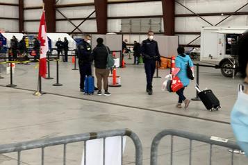 COVID-19: la quarantaine se déroule bien à Trenton