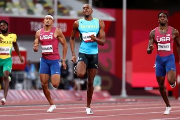 400m Steven Gardiner sacré champion olympique)