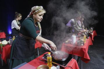 En Ukraine, un «marathon» du bortsch dans l'espoir de rejoindre la liste de l'UNESCO)