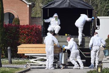 Italie: possible pic de l'épidémie «dans les prochains jours»