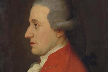 Une partition de jeunesse de Mozart vendue à 545000$