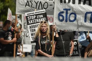 Grèce Grèves et manifestations contre un projet de loi)