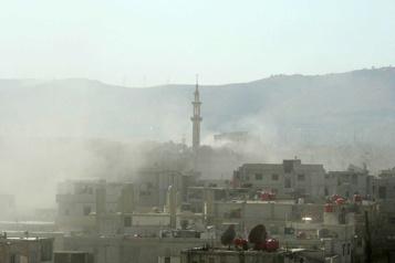 La Syrie encore sanctionnée pour l'usage d'armes chimiques )
