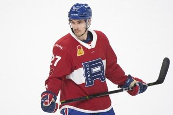 Canadien Nouveau contrat d'un an pour Laurent Dauphin)