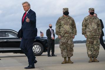 Présidentielle américaine À cinq jour du scrutin, Trump et Biden fidèles à deux stratégies opposées)
