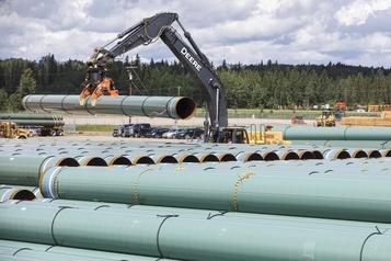 Début des travaux du pipeline de Trans Mountain en Colombie-Britannique)
