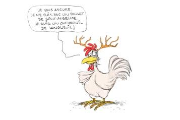 «Un chevreuil de Longueuil»)