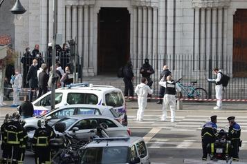 Nice Trois morts dans une attaque «islamiste» contre une église)