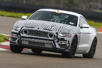 Ford revient avec l'appellation Mach1 pour sa Mustang)