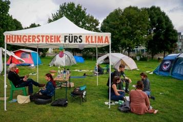 Allemagne De jeunes militants en grève de la faim pour dénoncer la «catastrophe climatique»)