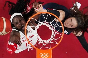 Basketball Victoire du Canada74-53 contre la Corée du Sud)