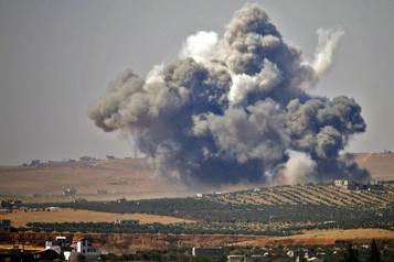 Vingt-trois morts dans de violents combats dans le sud de la Syrie)