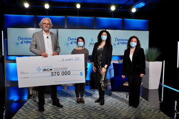 370 000$ pour l'IRCM)