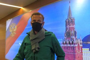 L'opposant Alexeï Navalny arrêté à l'aéroport de Moscou)