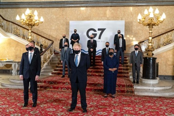 Les pays du G7 fermes contre la Russie, la Chine et l'Iran)