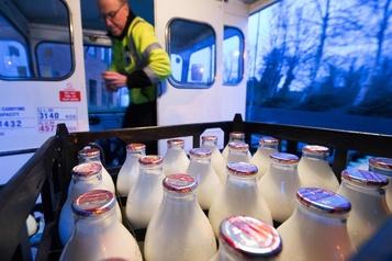 Royaume-Uni: les livreurs de lait de nouveau en vogue