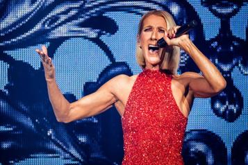 Premier spectacle de sa tournée: Céline Dion magistrale