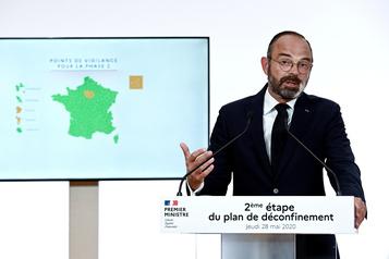 Déconfinement: la France lève une bonne partie des restrictions )