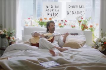 Damien Robitaille chante pour le lait sans lactose)