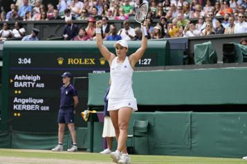 Wimbledon Ashleigh Barty et Karolina Pliskova en finale)