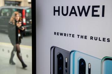Huawei: Londres s'apprête à trancher, sous l'œil de Washington