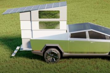 Comment transformer un Tesla Cybertruck en camion-roulotte électrique)