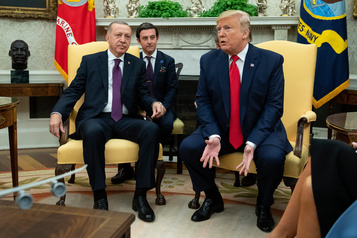 Trump reçoit son «ami» Erdogan à la Maison-Blanche