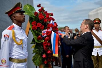 «Cuba pourra toujours compter sur la Russie», promet Medvedev