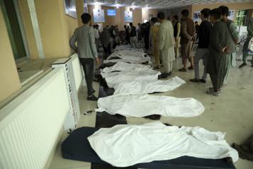 Au moins 50morts dans une explosion à Kaboul )